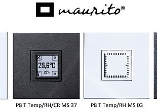 Poseidon® temperature and humidity transmitter in the Maurito design