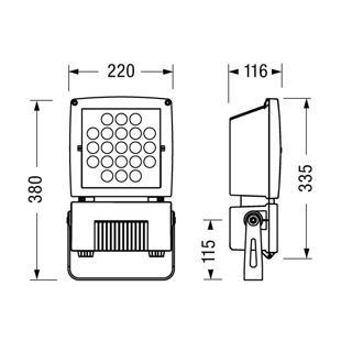 D30 miniboxer LED rozměry